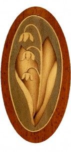 Lily-of-the-Valley inlay
